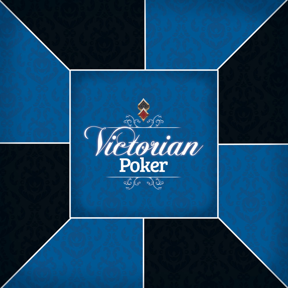 tapis de poker antid rapant carr victorian blue. Black Bedroom Furniture Sets. Home Design Ideas
