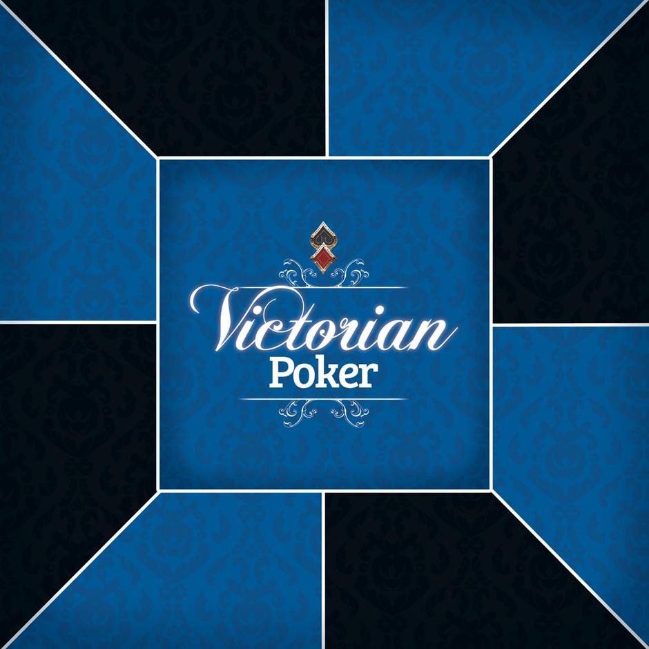 tapis de poker antid rapant carr victorian blue. Black Bedroom Furniture Sets. Home Design Ideas