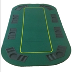 Tablero de Poker rectangular verde OUTLET
