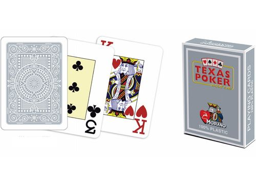 Modiano Texas Poker Jumbo gris