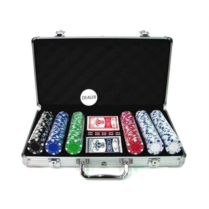 Jetons Dice Mallette Poker Mallette de 300 jetons Dice