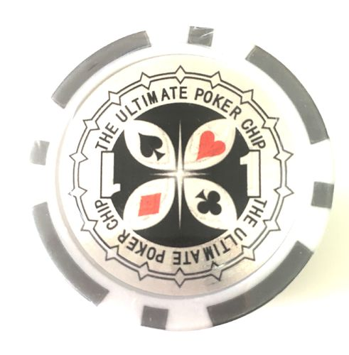 Rolls of 25 Ultimate Poker Chips value 1