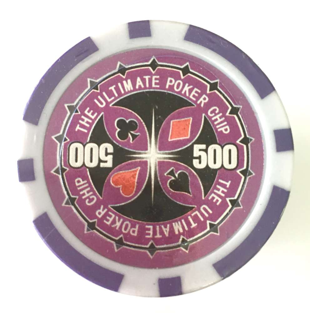 Rolls Of 25 Ultimate Poker Chips Value 500 Pokerproductos Com
