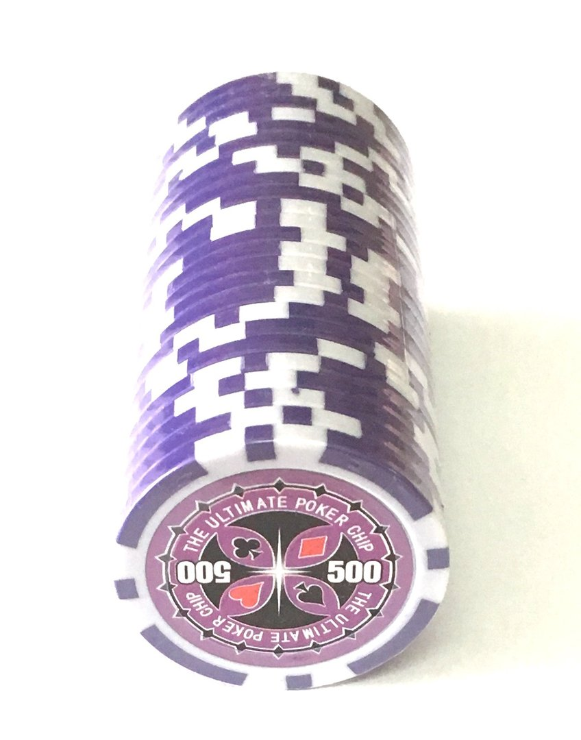 Ultimate Poker value 50 Route of 25 Chips//Chips 14 GR Mod