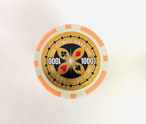 Rolls of 25 Ultimate Poker Chips value 1000