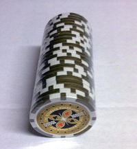 Rolls of 25 Ultimate Poker Chips value 10000