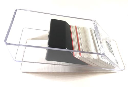 Card Shoe transparent plastic 6 decks