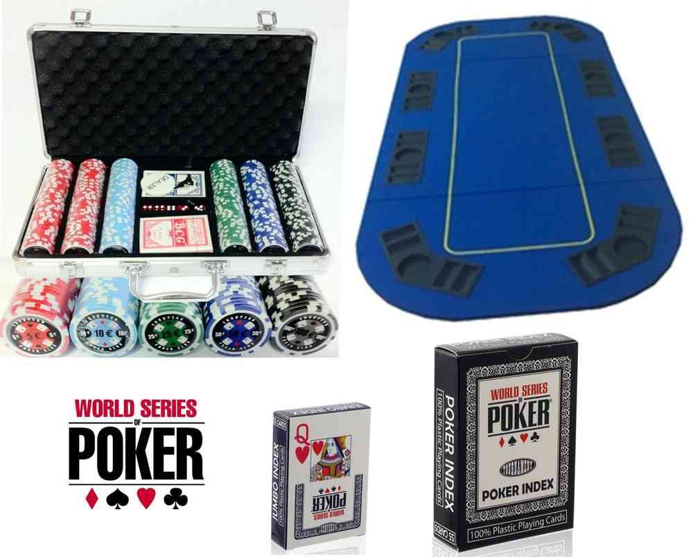Dice Set completo 300 Fiches 11,5 Gr