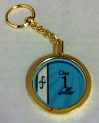 Poker Key Ring B-Class chip 1