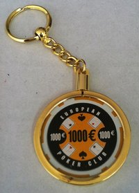Poker Key Ring EPC chip 1000