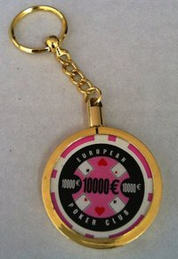 Poker Key Ring EPC chip 10000