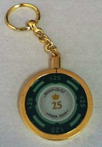 Poker Key Ring Montecarlo chip 25