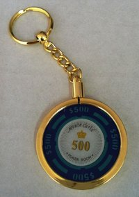 Poker Key Ring Montecarlo chip 500