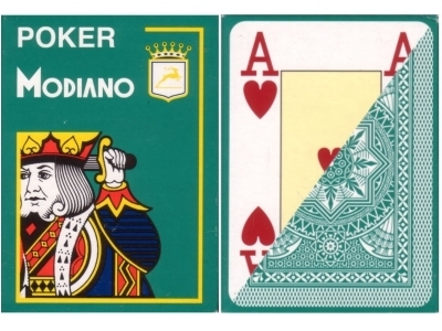 Modiano Poker Jumbo verde