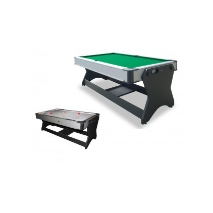 Multijuego Giratorio Billar y Airhockey