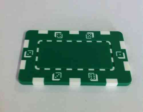 Placa Abs Dice verde