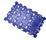5 units ABS Dice blue plates