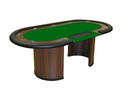 Deluxe Poker Table 9 players + dealer