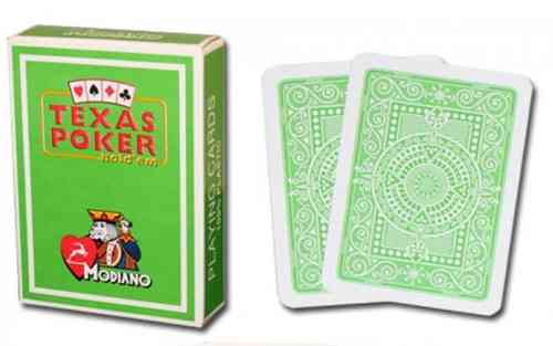 Modiano Poker Texas Jumbo verde light