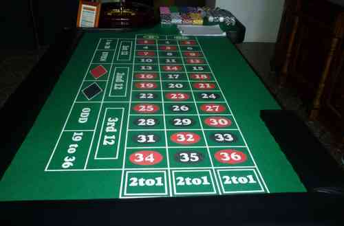 ROULETTE TABLE Renting