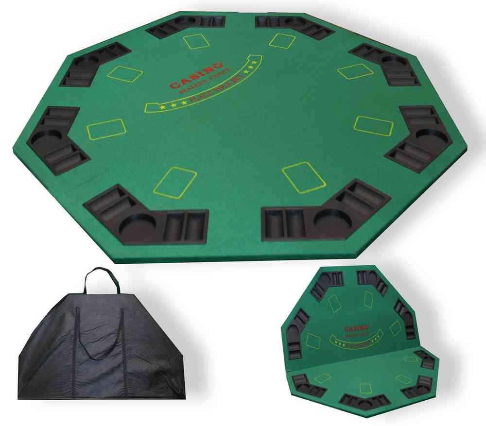 Groovy Octagonal Poker Fold Table 2 Parts Home Remodeling Inspirations Basidirectenergyitoicom