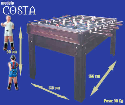 COSTA FOOTBALL TABLE Renting