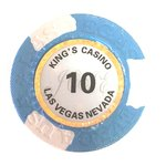 25 Fichas Clay Kings valor 10