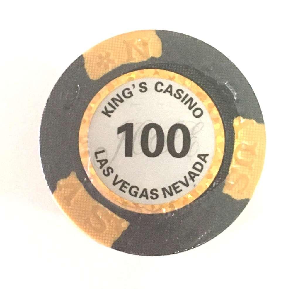 25 King S Clay Chips Value 100 Pokerproductos Com