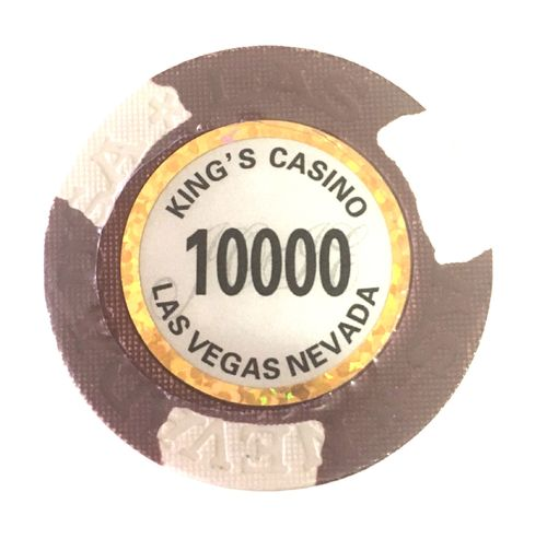25 Jetons Clay Kings valeur 10000