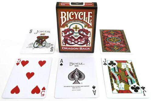 Cartas Bicycle Dragon Back