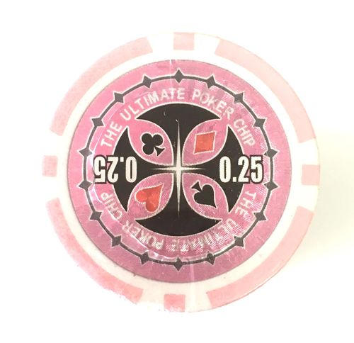 Recargas 25 Fichas Poker Ultimate Chip 0,25