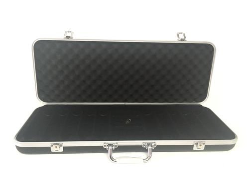 Empty black  Poker Case 500