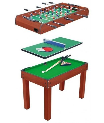 Multigame table 3 in 1