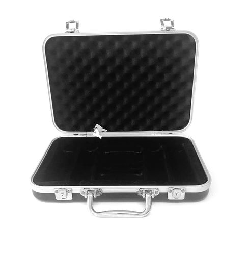 Empty Premium Black Poker Case 200