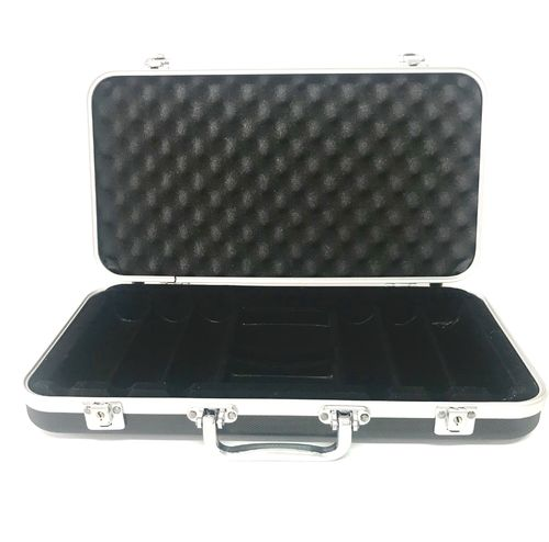 Empty Premium Black Poker Case 300