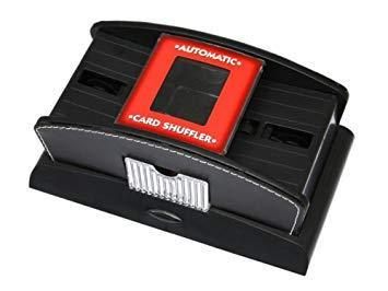 Automatic card shuffler Leather