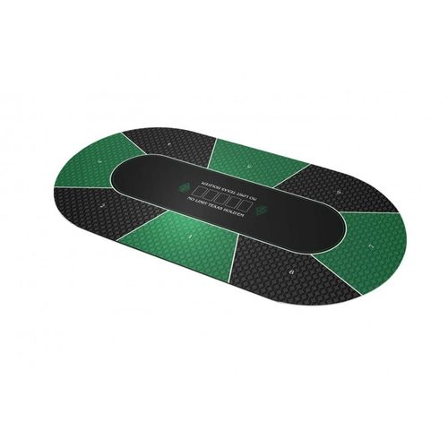 Poker layout rubber grip No Limit green
