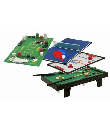 Multigame table 4 in 1