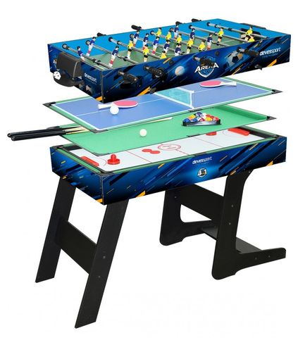 Multigames table 4 in 1