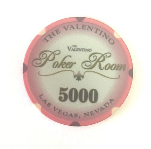 25 Ceramic Chips Valentino value 5.000