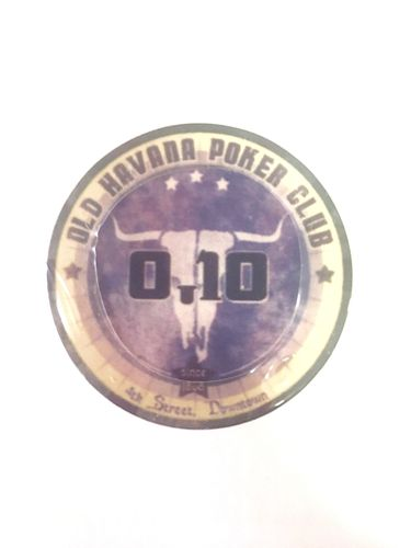 Ceramic chips Old Havana value 0,10
