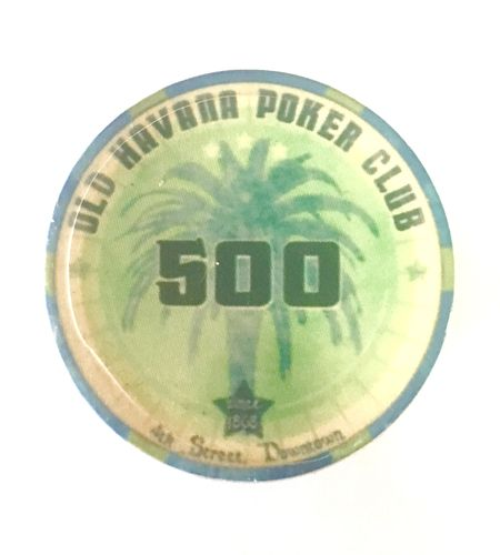 Ceramic chips Old Havana value 500
