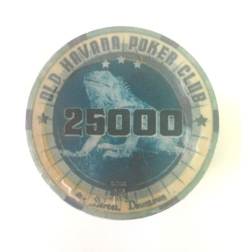 Ceramic chips Old Havana value 25.000