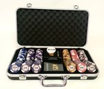 Poker Chips Set Kings