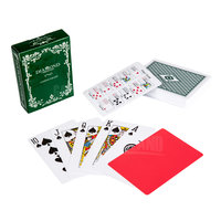 Custom 100% plastic poker cards