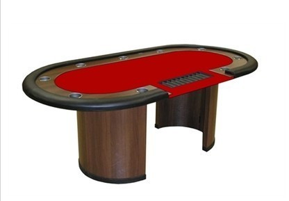 Deluxe Poker Table Personalized with croupier