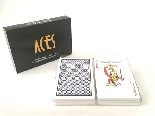 Pack 2 desk 100% plastic ACES