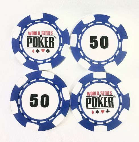 Rolls of 25 Chips WSOP  50