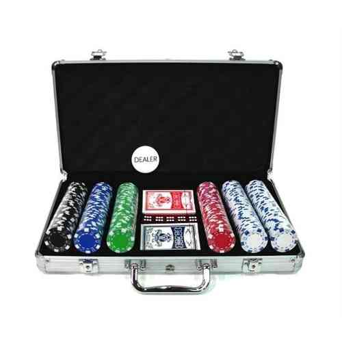 300 poker chips set Dice